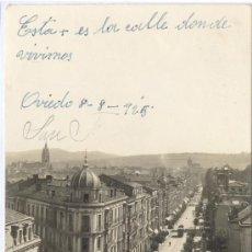 Postales: FOTO REAL TIPO TARJETA POSTAL DE OVIEDO ASTURIAS . Lote 18573288