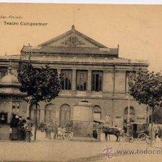 Postales: OVIEDO(ASTURIAS).-TEATRO CAMPOAMOR. Lote 18700739