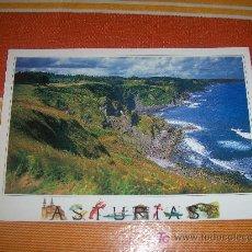 Postales: POSTAL DE ( ASTURIAS ),COSTA ASTURIANA DESDE EL CABO DE LASTRES , EDICIONES A.M., SIN CIRCULAR. Lote 19399397