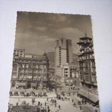 Postales: POSTAL DE OVIEDO (PZA. DEL GENERALISIMO Y CALLE DE PELAYO) SIN CIRCULAR. Lote 19707402