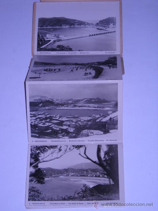 Postales: RECUERDO DE RIBADESELLA (ASTURIAS) EDIC. PALACIO. 10 POSTALES DESPLEGABLES EN SU SOBRE ORIGINAL - Foto 2 - 19974641