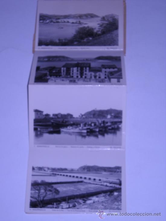 Postales: RECUERDO DE RIBADESELLA (ASTURIAS) EDIC. PALACIO. 10 POSTALES DESPLEGABLES EN SU SOBRE ORIGINAL - Foto 3 - 19974641