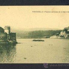 Postales: POSTAL DE RIBADESELLA (ASTURIAS): PRECIOSO PANORAMA DE LA RIBERA DEL SELLA (ED.JESUS DELGADO). Lote 20016540