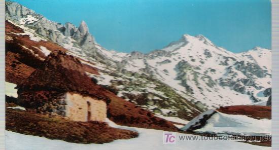 ASTURIAS.- PAISAJE EN SOMIEDO. (Postales - España - Asturias Moderna (desde 1.940))