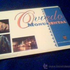 Postales: OVIEDO MONUMENTAL. ESTUCHE CON 6 POSTALES DE LOS MONUMENTOS DE OVIEDO. ASTURIAS.. Lote 21501209