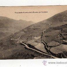 Postales: PAJARES - VISTA DESDE EL CAMINO DE LA ESTACION DE PAJARES, CIRCULADA 1913. Lote 23639674