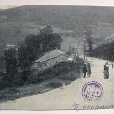 Postales: ANTIGUA POSTAL DE ASTURIAS - PAJARES - CARRETERA DE BUSDONGO - EN - NO CIRCULADA - . Lote 22888212