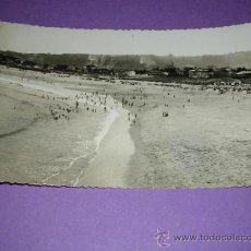 Postales: AVILES ASTURIAS, PLAYA DE SALINAS, POST. FOTOGRAFICA FOT, M. FIGUEROLA, 14X9 CM.. Lote 23108241