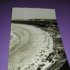 Postales: AVILES, PLAYA DE SALINAS Y LOS PINARES, FOTG. M. FIGUEROLA,14X9 CM.. Lote 23163478