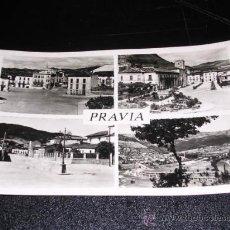 Postales: PRAVIA , 4 VISTAS. Lote 23182357