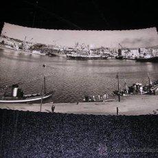 Postales: AVILES, ASTURIAS-DARSENAS DE SAN AGUSTIN, FOTG. M. FIGUEROLA, 14X9 CM.. Lote 25359892