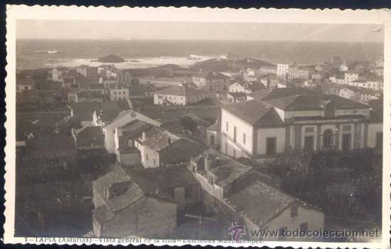 TAPIA (ASTURIAS).- VISTA GENERAL DE LA VILLA (Postales - España - Asturias Moderna (desde 1.940))
