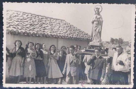 COLLERA(ASTURIAS).-PERTENECIENTE AL CONCEJO DE RIBADESELLA.-PROCESIÓN (Postales - España - Asturias Moderna (desde 1.940))