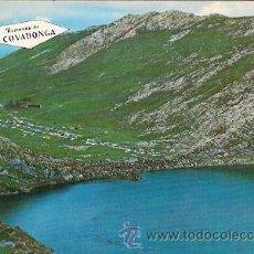 Postales: COVADONGA (ASTURIAS) - LAGO ENOL (LEVES DOBLECES EN LOS ANGULOS). Lote 24153829