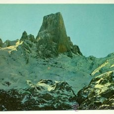 Postales: POSTAL PICOS DE EUROPA NARANJO DE BULNES NEVADO FOTO BUSTAMANTE SIN CIRCULAR. Lote 24408171