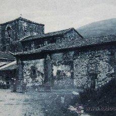 Postales - Puerto de Pajares: Asturias. Antigua Colegiata. Carretera de Pajares a Arbás. Ed.Sgel nº 33. Años 20 - 24491952