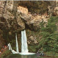 Postales: COVADONGA Nº 44 ASTURIAS GRUTA Y CASCADA EDICIONES GARRABELLA NUEVA. Lote 24540526
