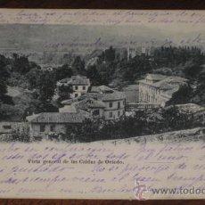 Postales: ANTIGUA POSTAL DE LAS CALDAS DE OVIEDO (ASTURIAS) - VISTA GENERAL - BELLMUNT Y DIAZ - SIN DIVIDIR Y . Lote 24901030
