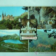 Postales: COVADONGA. ASTURIAS. Nº 16135. ED. PERGAMINO. ESCRITA Y CIRCULADA. Lote 25920692
