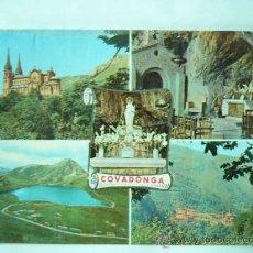 Postales: COVADONGA. ASTURIAS. Nº 16135 ED. PERGAMINO. ESCRITA Y CIRCULADA. Lote 25941585
