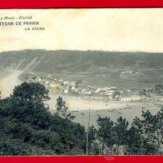 Postales: SAN ESTEBAN DE PRAVIA , ASTURIAS , LA ARENA , P60789. Lote 26026262