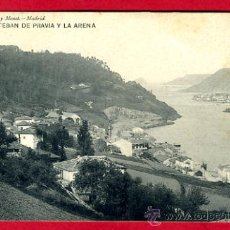 Postales: SAN ESTEBAN DE PRAVIA , ASTURIAS , Y LA ARENA , P60792. Lote 26026290
