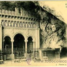 Postales: COVADONGA.- SANTUARIO EN LA CUEVA.- EDIT. HAUSER Y MENET Nº 7. Lote 26806881