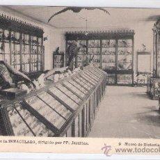 Postales: GIJON - COLEGIO DE LA INMACULADA- 9 - MUSEO DE HISTORIA NATURAL - (6032). Lote 26980454