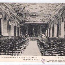 Postales: GIJON - COLEGIO DE LA INMACULADA- 15 - SALON DE ACTOS - (6034). Lote 26980520