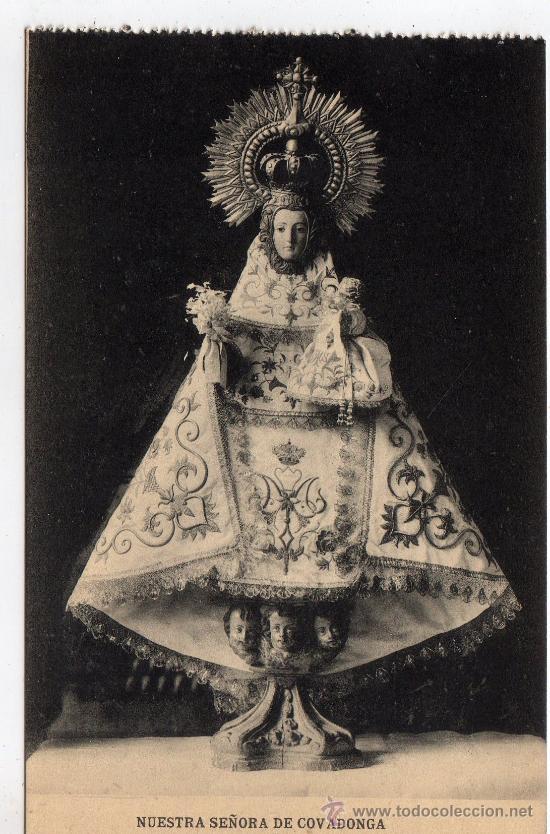 COVADONGA-ASTURIAS (Postales - España - Asturias Antigua (hasta 1.939))