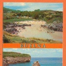 Postales: BUELNA - LLANES - ASTURIAS - LA PLAYA ( BAJAMAR ) - Nº 260 FOTO PEPE LLANES. Lote 27303959