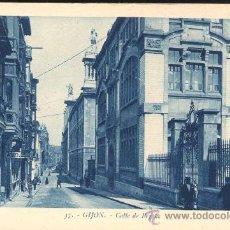 Postales: GIJON (ASTURIAS).- CALLE DE BEGOÑA. Lote 27350328