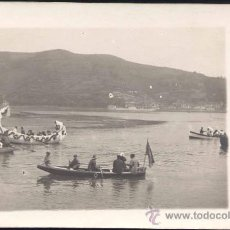 Postales: LUARCA (ASTURIAS).- POSTAL FOTOGRÁFICA AÑO 1908.. Lote 27350577