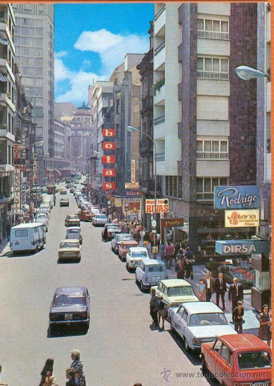 OVIEDO - CALLE PALACIO VALDÉS - Nº 497 EDICIONES ALCE (Postales - España - Asturias Moderna (desde 1.940))