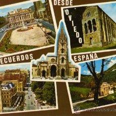 Postales: OVIEDO Nº 092 EDICIONES ALCE ESCRITA CIRCULADA SELLO SIN MATASELLAR . Lote 27758526