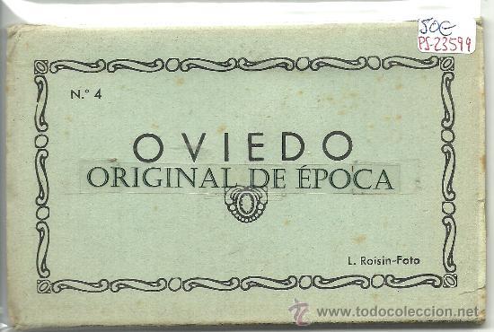 (PS-23599)BLOC DE 10 POSTALES FOTOGRAFICAS DE OVIEDO -EDICION L.ROISIN (Postales - España - Asturias Moderna (desde 1.940))