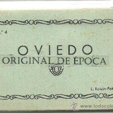 Postales: (PS-23599)BLOC DE 10 POSTALES FOTOGRAFICAS DE OVIEDO -EDICION L.ROISIN. Lote 28124584