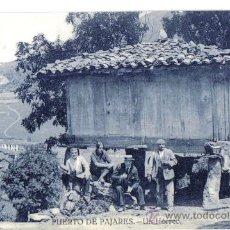 Postales: POSTAL OVIEDO (ASTURIAS). PUERTO DE PAJARES, UN HORREO. Lote 28172446