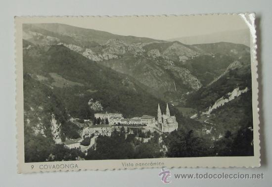 TARJETA POSTAL ASTURIAS. COVADONGA (Postales - España - Asturias Moderna (desde 1.940))