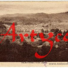 Postales: BONITA POSTAL - (ASTURIAS) - VILLAVICIOSA - VISTA GENERAL - FOTO A.FRESNO. Lote 28390984