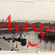 Postales: RARA POSTAL - GIJON (ASTURIAS) - VISTA PANORAMICA DEL MUELLE - EDIDIONES ARRIBAS. Lote 28407956