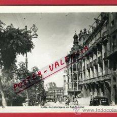 Postales: OVIEDO, ASTURIAS, CALLE DEL MARQUES DE SANTA CRUZ, P63837. Lote 28827938