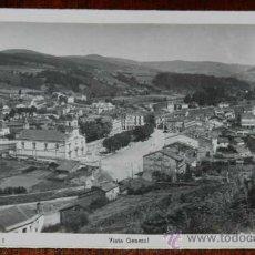 Postales: ANTIGUA FOTO POSTAL DE VEGADEO (ASTURIAS) VISTA GENERAL - CASA RESTREPO Nº 16 - SIN CIRCULAR. Lote 29203597