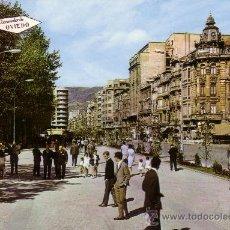 Postales: ESPAÑA. T. P. Nº 204. OVIEDO. PASEO DE JOSÉ ANTONIO Y CALLE DE URIA. CIRCULADA AÑO 1968. MAGNÍFICA.. Lote 29229578