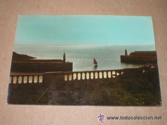 TAPIA DE CASARIEGO ASTURIAS CONTRALUZ (Postales - España - Asturias Antigua (hasta 1.939))