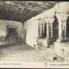 Postales: POSTAL ASTURIAS SAN PEDRO DE VILLANUEVA . ESCOLAR - H. MENET CA AÑO 1920 .. Lote 29852612