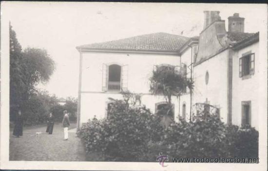 SIERO-NOREÑA (ASTURIAS).- POSTAL FOTOGRÁFICA DE CASA MÉDICA DE REPOSO (Postales - España - Asturias Moderna (desde 1.940))