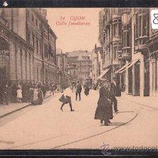 Postales: GIJON - 14 - CALLE JOVELLANOS -ED. F. MATOS- LA CAMERANA -(8506). Lote 30059776