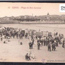 Postales: GIJON - 12 - PLAYA DE SAN LORENZO -ED. F. MATOS- LA CAMERANA -(8507). Lote 30059797