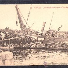 Postales: GIJON - 4 - FESTIVAL MARITIMO. CUCAÑAS -ED. F. MATOS- LA CAMERANA -(8516). Lote 30060041